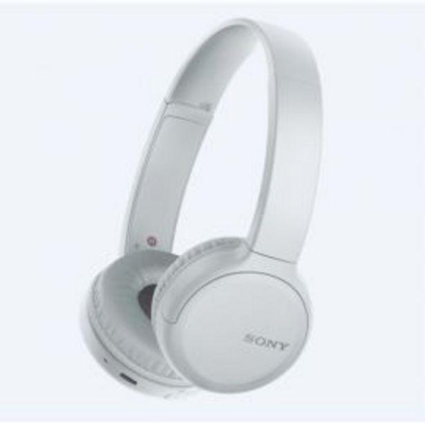 SONY CASQUE BLUETOOTH WH-CH510 BLANC offre à 649 Dh
